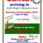 Santa Arriving In Kells People's Resource Centre!
