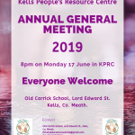 Annual General Meeting Monday June 17th 2019